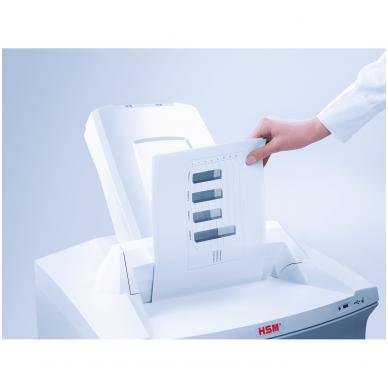 Automatinis konfidencialių dokumentų naikiklis biurui HSM Securio AF500, 1,9 x 15mm 8