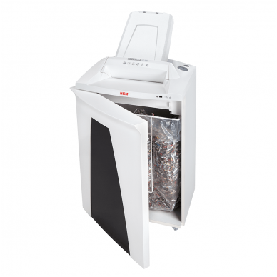 Automatinis konfidencialių dokumentų naikiklis biurui HSM Securio AF500, 4,5 x 30mm 5