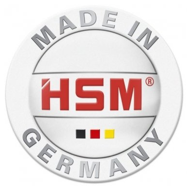Dokumentų naikiklis mažam biurui HSM Securio C16, 4 x 25mm, P-4 6