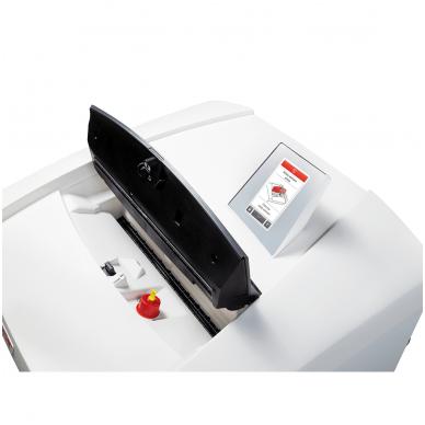 Profesionalus dokumentų naikiklis su automatine ašmenų tepimo sistema, skirtas dideliam biurui ar departamentui HSM Securio P36i, gabalėliai 4,5 x 30,mm, P-4 7