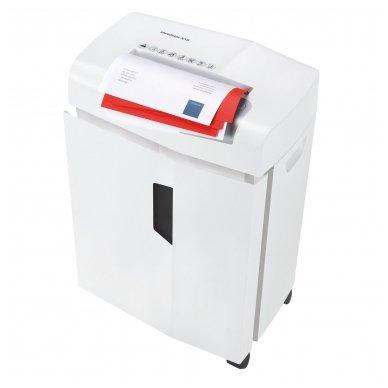 Dokumentų smulkintuvas biurui HSM Shredstar X15, gabalėliai 4 x 37mm, P-4 2
